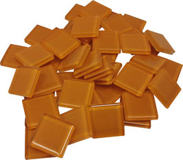 Soft Glas orange 20x20mm