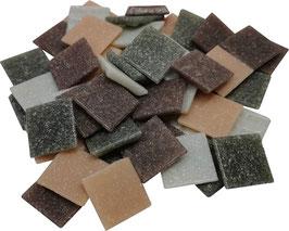 20x20 Mosaik lilagrau mix