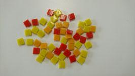 10x10 Mosaik rotmix