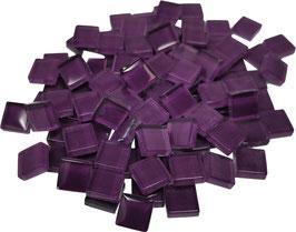 Soft Glas lila 10x10mm