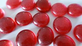 Glasnuggets 17-20 mm Rot gesprüht 41