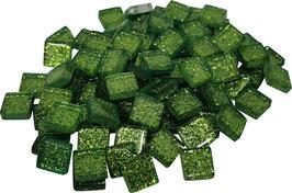 Soft Glas Glitter hellgrün 10x10