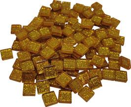 Soft Glas Glitter gold  10x10