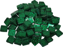 Soft Glas Glitter grün 10x10