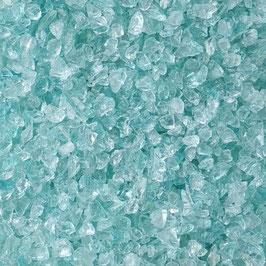 Glasbrocken Glassteine Schotter 10-30 mm Glas Steine türkis