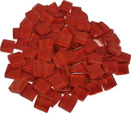 Soft Glas rot 10x10mm