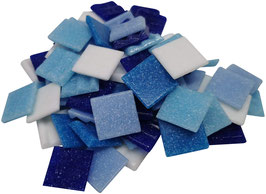 20x20 Mosaik blaumix