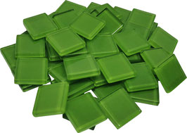 Soft Glas grün 20x20mm