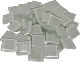 Soft Glas weiß 20x20mm