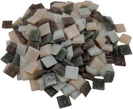 10x10 Mosaik lilagrau Mix