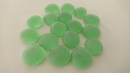 Glasnuggets 17-20 mm frost grün Nr.34