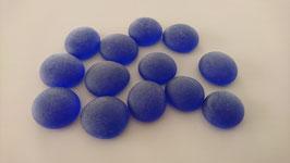 Glasnuggets 17-20 mm frost blau Nr.35