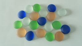 Glasnuggets 17-20 mm frost Mix bunt
