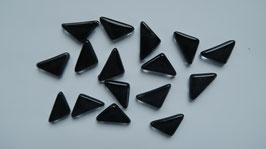 Soft Glas Dreiecke schwarz