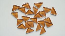 Soft Glas Dreiecke braun