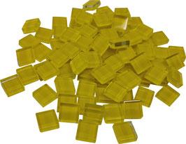 Soft Glas gelb 10x10mm