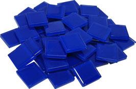 Soft Glas blau 20x20 mm