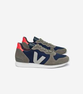 Blau-Hellgrauer Sneaker Holiday Oxford von Veja