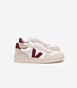 Weißer Sneaker V10 Marsala von Veja