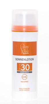 SONNENLOTION UVA-UVB LSF 30
