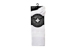 Baumwoll Socken Weiß/Grau/Navy