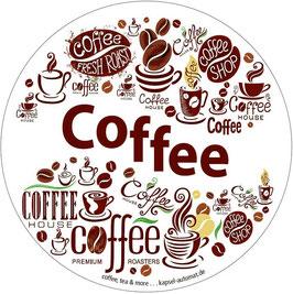 Aufkleber Coffee