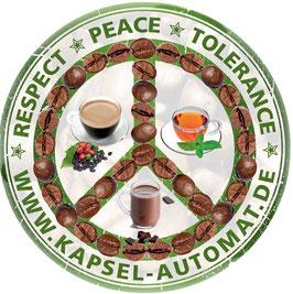 Aufkleber Peace