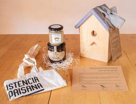 """¡Original y ecológica """"cesta"""" de Productos locales y sostenibles!"""