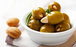 Gefüllte Oliven mit Mandeln