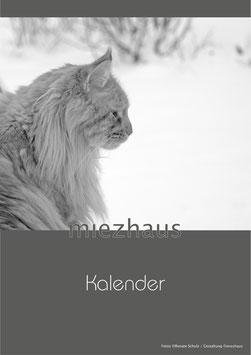 miezhaus Katzenkalender endlos / Limitierte Auflage