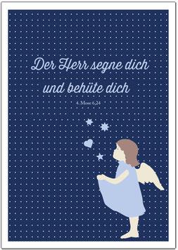 """Schutzengelchen """"Der Herr segne Dich"""""""