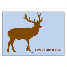 Frohe Weihnachten - Rudolph
