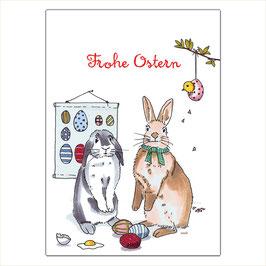Frohe Ostern - Hasenwerkstatt