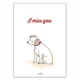 I miss you - Kleiner Hund