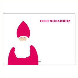 Frohe Weihnachten - Nikolaus