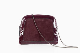 Cut-out Pochette aubergine