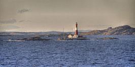 Leuchtturm im Fjord