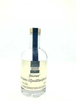 Großbundenbacher Birnen- und Quittenbrand 350 ml