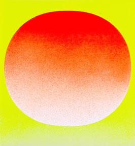 """Rupprecht Geiger, """"Orange auf Gelb"""""""