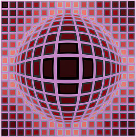 "Victor Vasarely, ""Louisiana 1"""