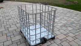IBC Box auf Stahl- oder Kunststoffpalette