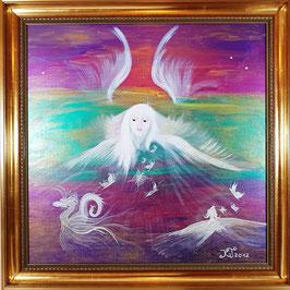 Engel in Weiß
