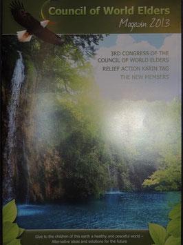 English: Council of World Elders Magazine 2013