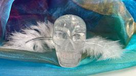 Kristallschädel aus Bergkristall