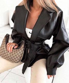 Beliebte Fashion Jackets - Schwarz Sela