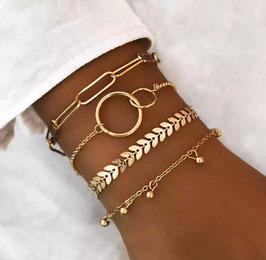 Armband Set Glamstore Stile 5
