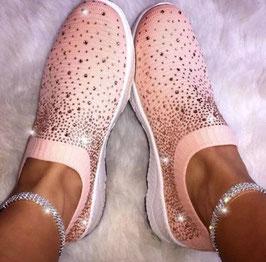 Sparkle Shoes -Rosa