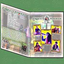 """DVD - """"Froggy Srones"""" - das ganze 1. Live-Konzert am 6.3. 2020"""