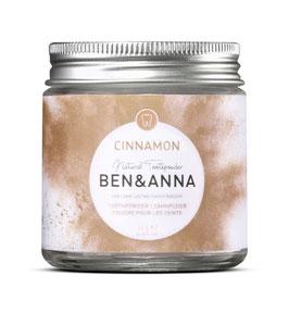 Ben&Anna Zahnpuder Cinnamon 45g