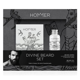 Divine Beard Set (Oil & Wipes)